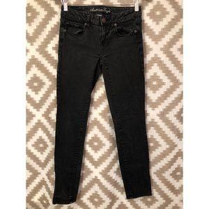 American Eagle Black Skinny Jeans!